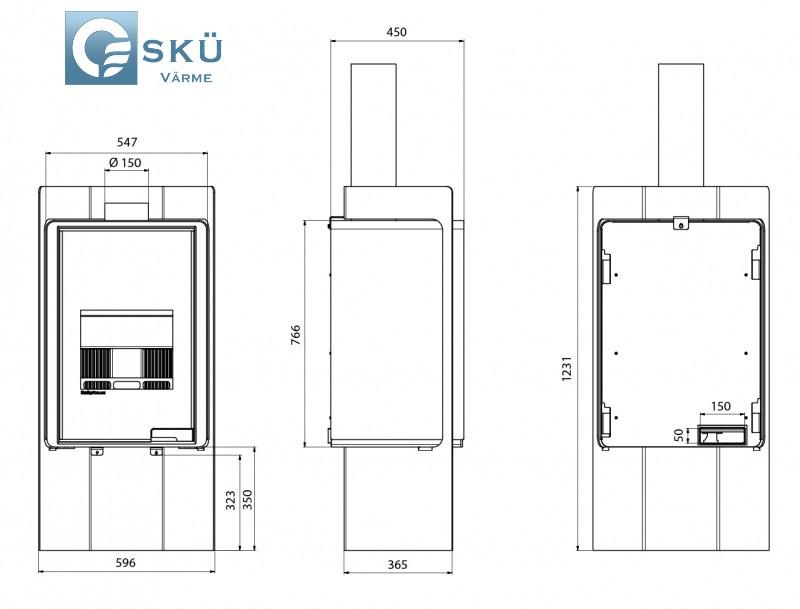 dimensions po le bois deluxe pulau sk v rme. Black Bedroom Furniture Sets. Home Design Ideas